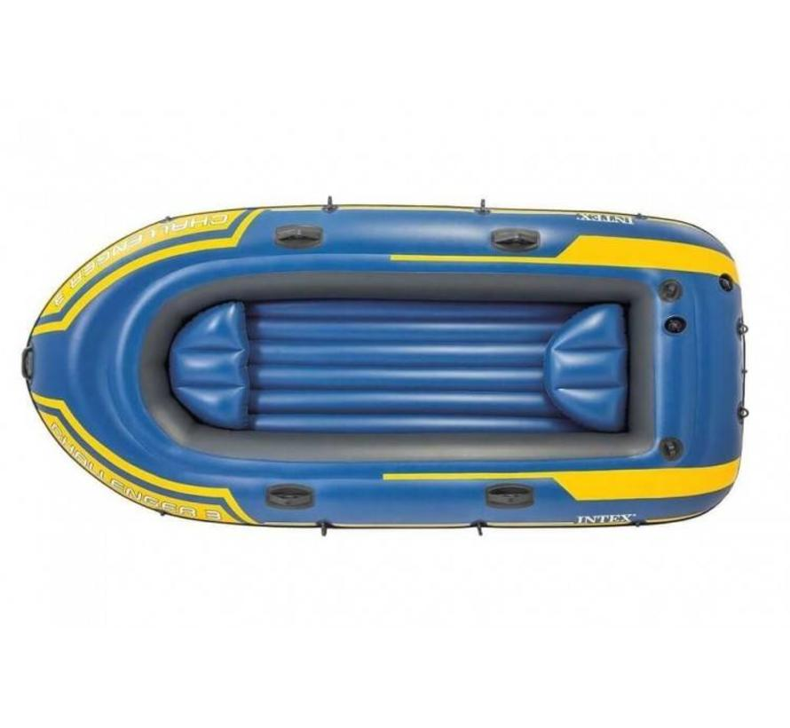 3-Persoons opblaasbare raft boot set - Challenger 3 - 295cm lang x 137cm breed x 43cm hoog