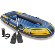 Intex 3-Persoons opblaasbare raft boot set - Challenger 3