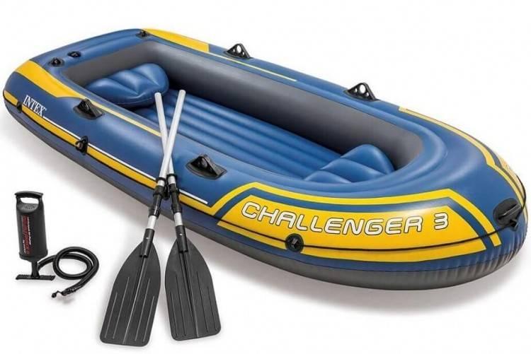 Opblaasbare Raft Boot set Challenger 2 - Copy Intex