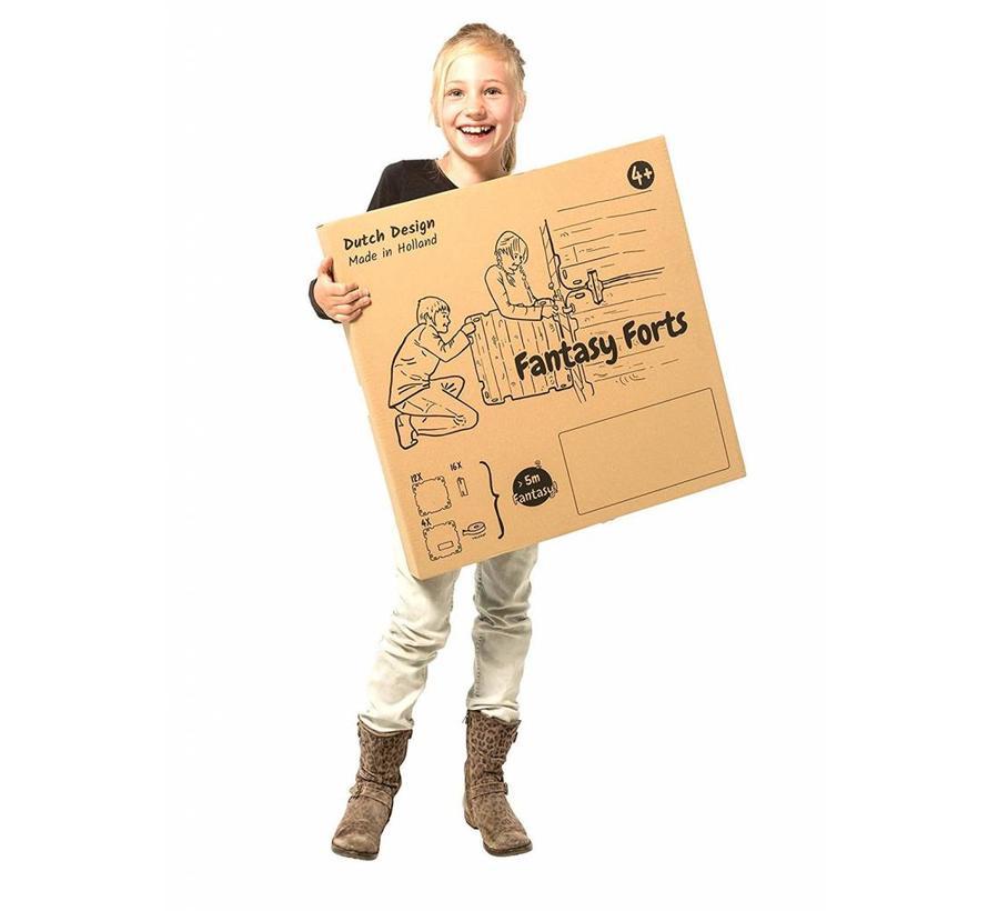 Hutten bouwpakket 'Piraten Editie' (47-delig)