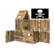 Fantasy Forts Hutten bouwpakket 'Piraten Editie' (47-delig)