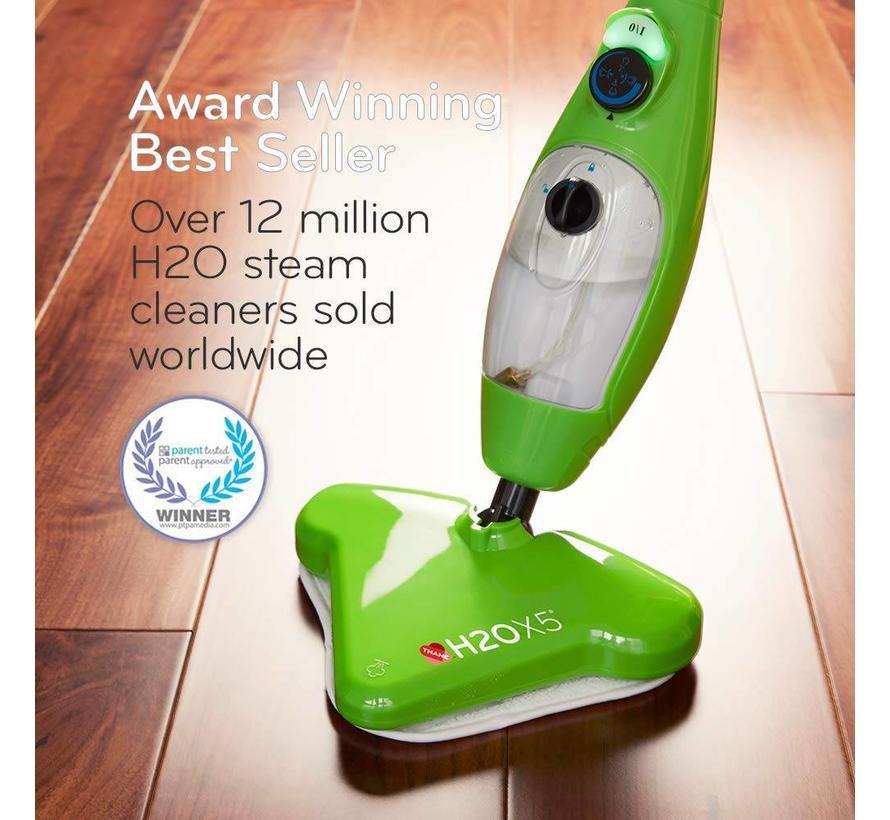 H2O X5 - Stoomreiniger set - 5in1 - Groen (Bekend van TV)