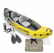 Intex 2-Persoons opblaasbare kajak set - Explorer K2