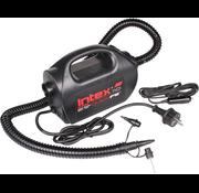 Intex QuickFill® - elektrische luchtpomp - 12V & 220V - met 3 mondstukken - blazen & zuigen