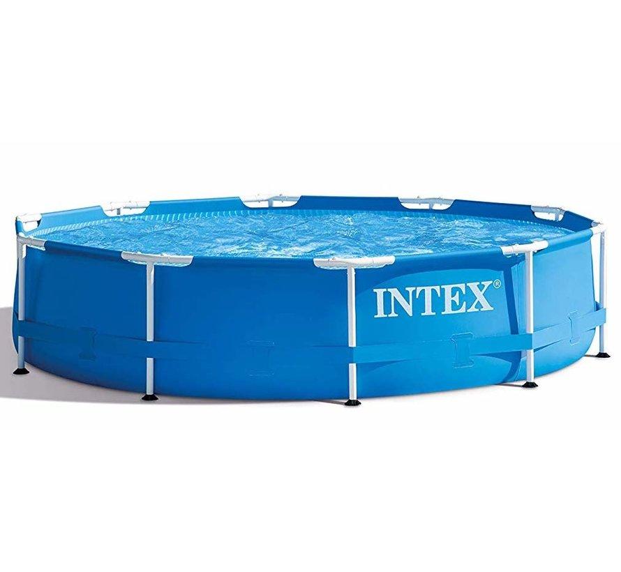 Metalen frame zwembad - met filterpomp - Ø305cm diameter - 76cm hoog