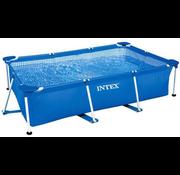 Intex Metal frame zwembad - rechthoekig - 300x200x75cm