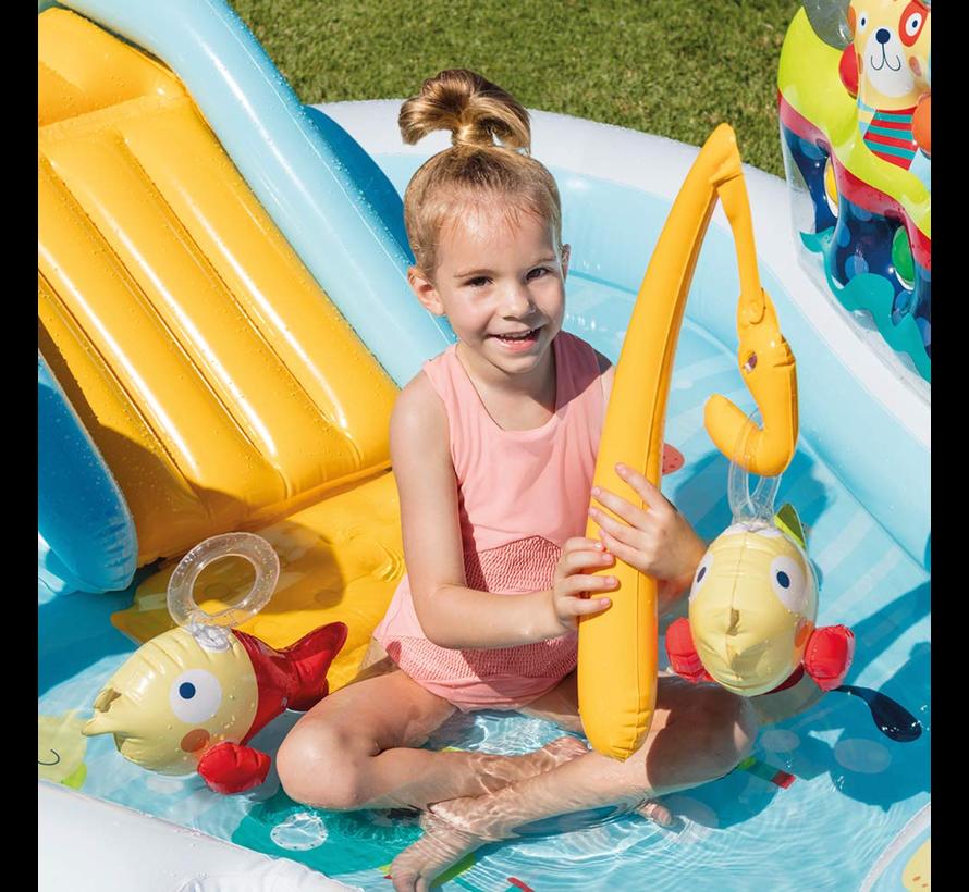 Fishing Fun - speelzwembad - 218cm x 188cm x 99cm