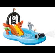 Intex Piraat - opblaasbaar speelzwembad - 246x193x150cm