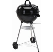 BBQ Collection Ronde houtskool barbecue met thermometer (Zwart)