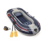Bestway 2+1 Persoons opblaasbare raft boot - Hydro-Force - Treck X2 set - met peddels en pomp - 255x127cm