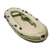 Bestway 3-Persoons opblaasbare raft boot set - Voyager 500 - 348x141cm