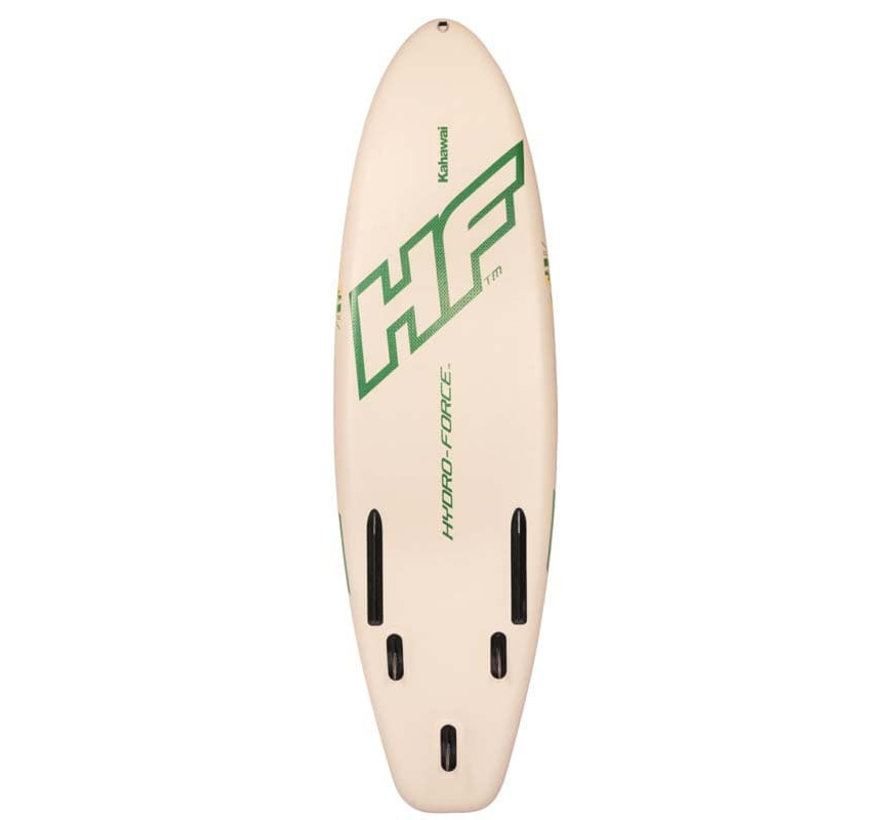 Opblaasbaar SUP board Kahawai set - met pomp en peddel - 310cm lang x 86cm breed x 15cm hoog