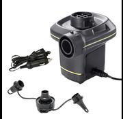Intex Quick-Fill elektrische luchtpomp 12V en 220V ( incl. accu en 3 mondstukken)