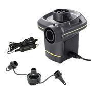 Intex QuickFill® - elektrische luchtpomp - 12V en 220V - met 3 mondstukken