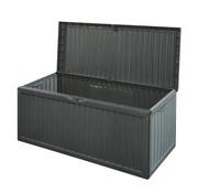 Huismerk Tuinkussen opbergbox - zwart - 336 Liter