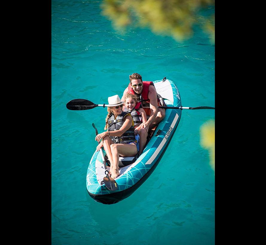 3-Persoons opblaasbare kajak - Alameda PREMIUM - 375cm lang x 93cm breed