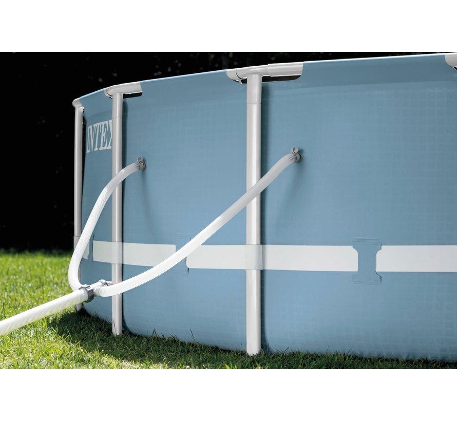Prism - metalen frame zwembad - Ø305cm diameter x 76cm hoog