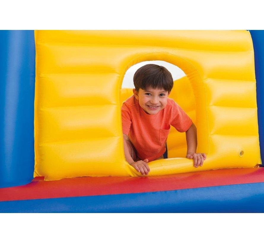 Jump-O-Lene - opblaasbaar springkasteel - 174cm x 174cm x 135cm