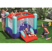 Bestway Up in & Over™ Spring n' Slide Bounce Park - Opblaasbaar springkussen met glijbaan - 200x245x145cm