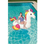 Bestway Floatin' Fashion - opblaasbare MEGA Unicorn - 224x164cm