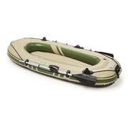 Bestway 2-Persoons opblaasbare raft boot set - Hydro-Force Voyager 300 - 243x102x31cm