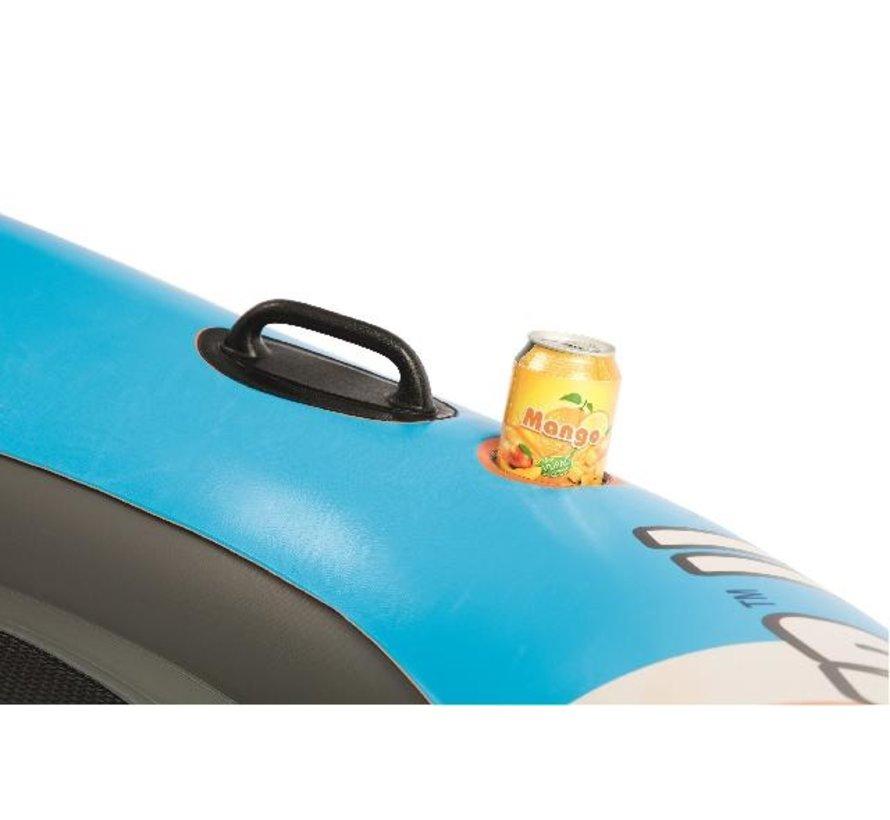 2-Persoons Coolerz Rapid Rider II - lounger - 132cm lang x 251cm breed x 50cm hoog