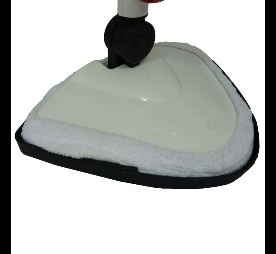 Briljant stoomreiniger - rood/wit - 1500 Watt