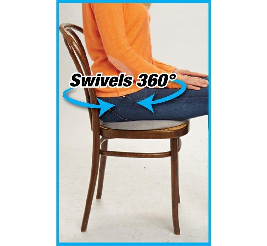 Comfort 360 Cushion – Draaibaar ergonomisch gelkussen voor rug- en beenklachten