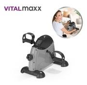 Vitalmaxx 2-In-1 Mini fiets, been en arm hometrainer met trainingscomputer - bewegingstrainer - fiets simulator
