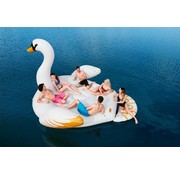 Bestway Floatin' Fashion - opblaasbare SUPERSIZED Zwaan XXL 429x330cm
