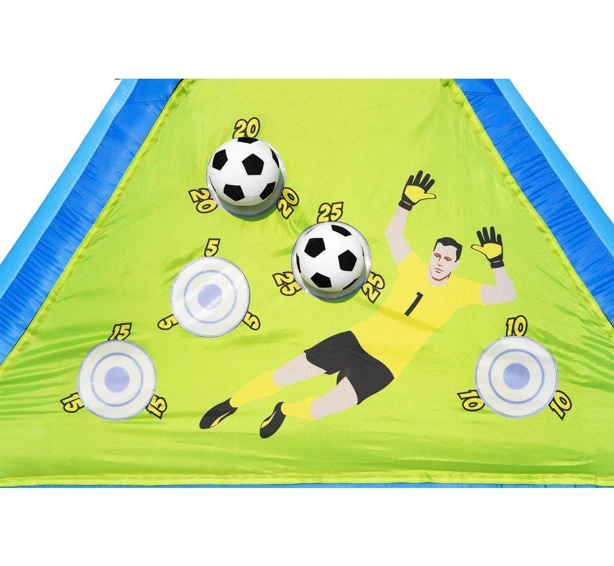 H2OGO! Opblaasbaar speelbord - dubbelzijdig - Voetbal, Basketbal en Honkbal