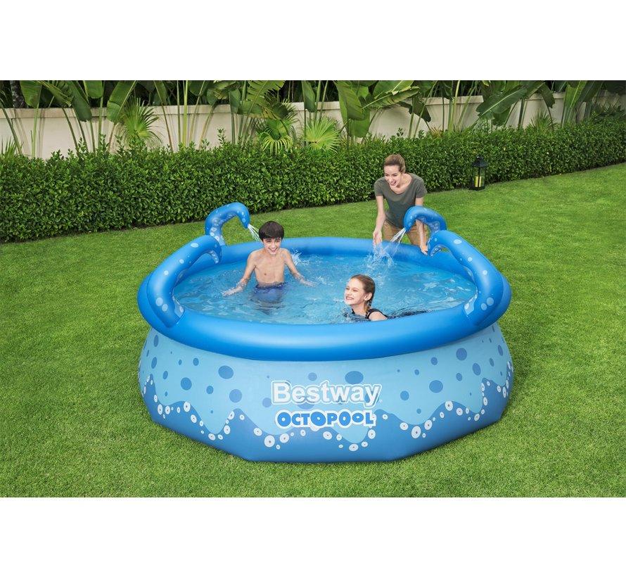 Spray Kinderzwembad Octopus 274x76cm