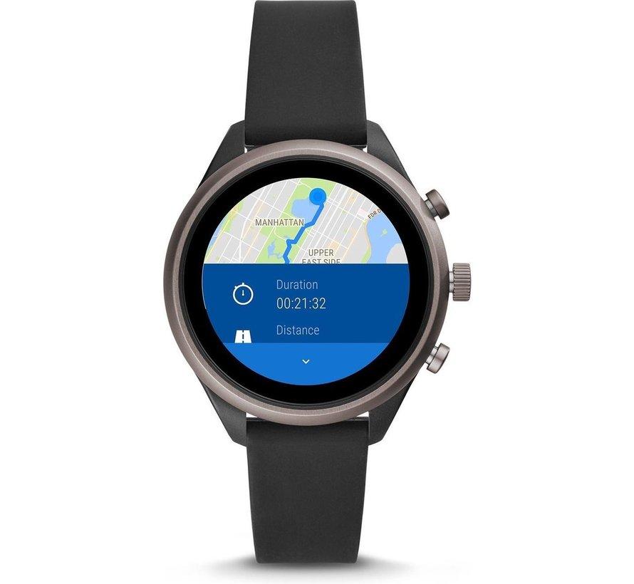 Unisex smartwatch Sport Gen 4S FTW6024 - zwart