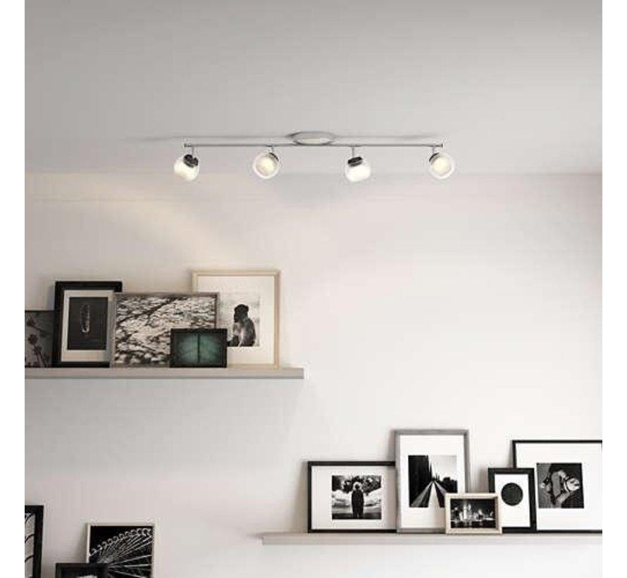 MyLiving LED Balla plafondlamp mat chroom 4W  (4-spots)