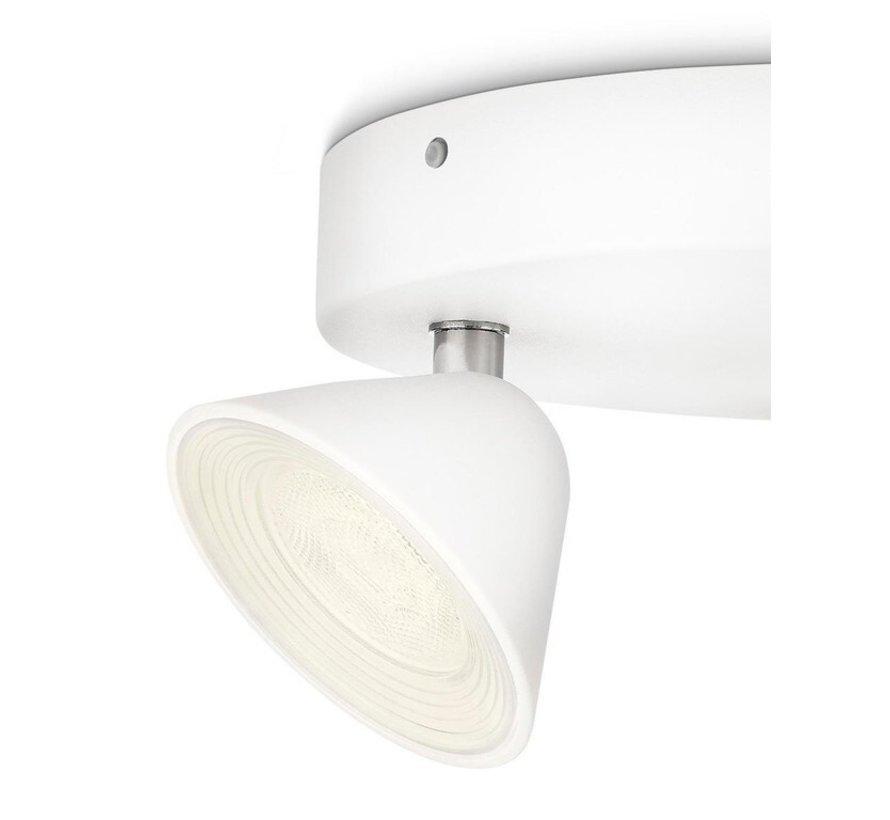 MyLiving Tweed plafondlamp LED 3W wit (3-spots)