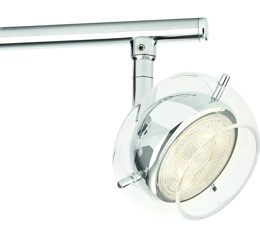 MyLiving LED Cypress plafondlamp chroom 3W (4-spots)