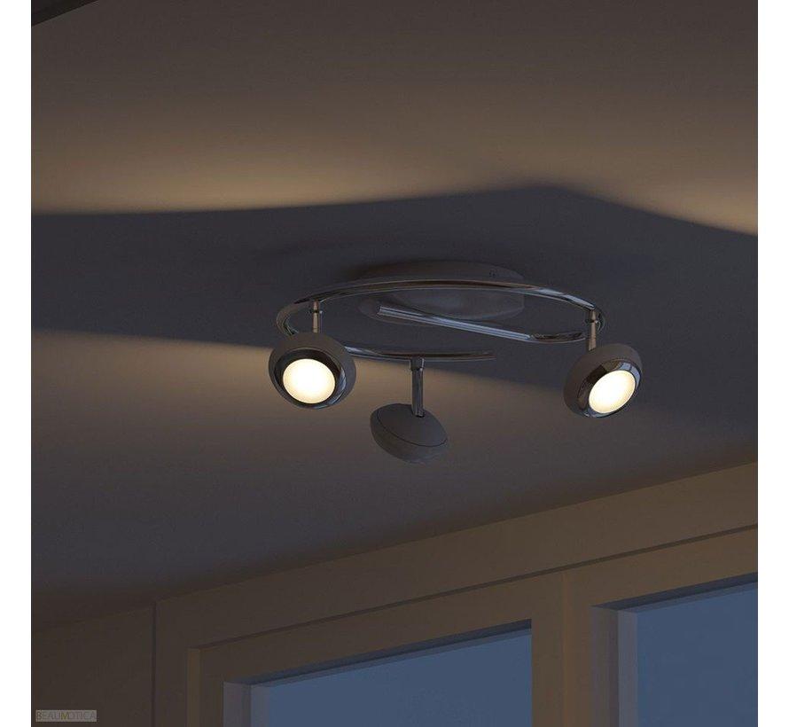 MyLiving Sepia plafondlamp LED 4,5W wit (3-spots)