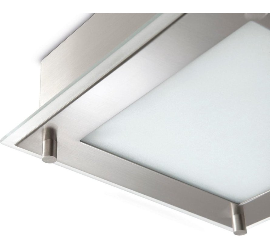 MyLiving Chintz wandlamp / plafondlamp mat chroom (incl. E14 spaarlamp)