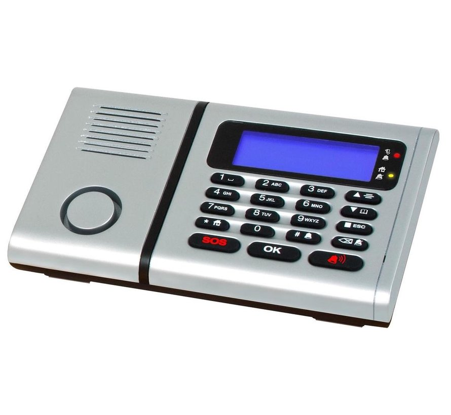 Draadloos Alarmsysteem met Telefoonkiezer PSTN DA-220