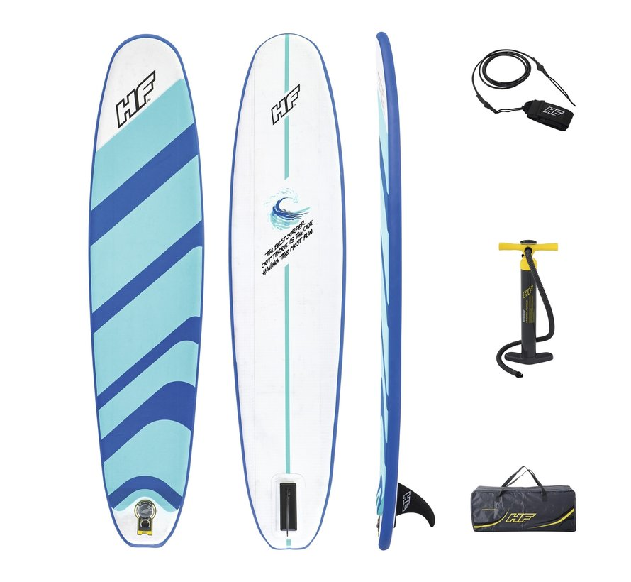 Opblaasbaar surfboard / SUP board 2in1 - Compact surf 8