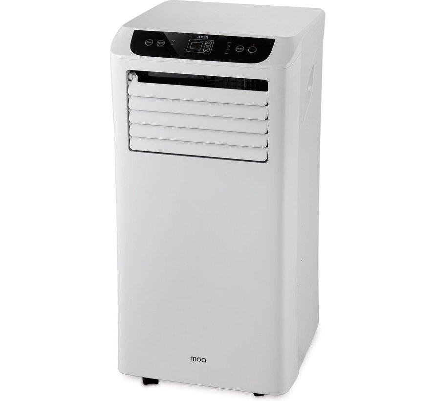 Mobiele Airco 4-in-1 A011 (9.000 BTU) Koelen, verwarmen, Ontvochtigen en Ventileren