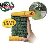 Bekend van TV Flexi Wonder Pro - Flexible Tuinslang - 15 Meter