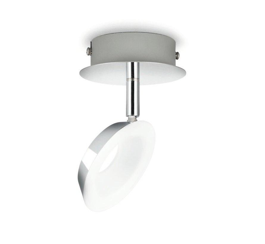 MyLiving LED Mackinaw plafondlamp - chroom 5W (1-spot)