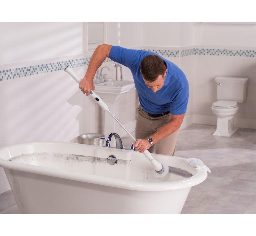 Turbo Scrub 360 - elektrische schoonmaakborstel / reinigingsborstel
