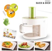 Livington Electrische Groentesnijder Slice & Dice 5-in-1 (Bekend van TV)