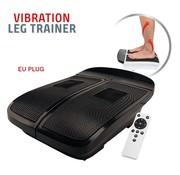 Bio Energiser Vibration Leg Trainer - spierstimulatie - met afstandsbediening - zwart