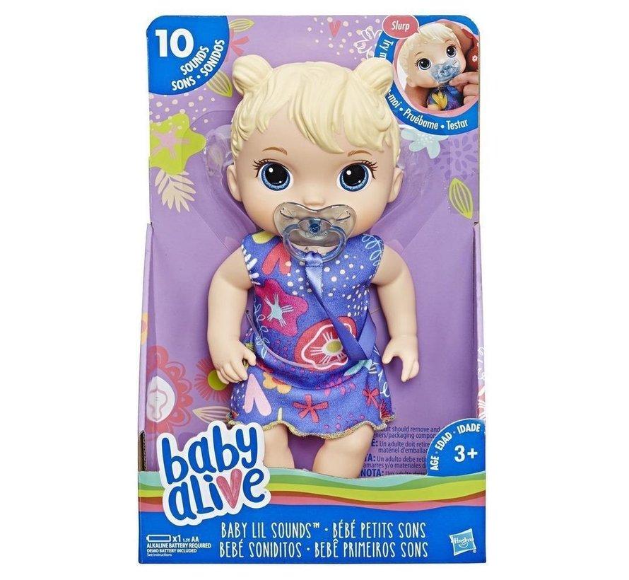 Baby Alive - Babypop Sweet met geluid - Blond