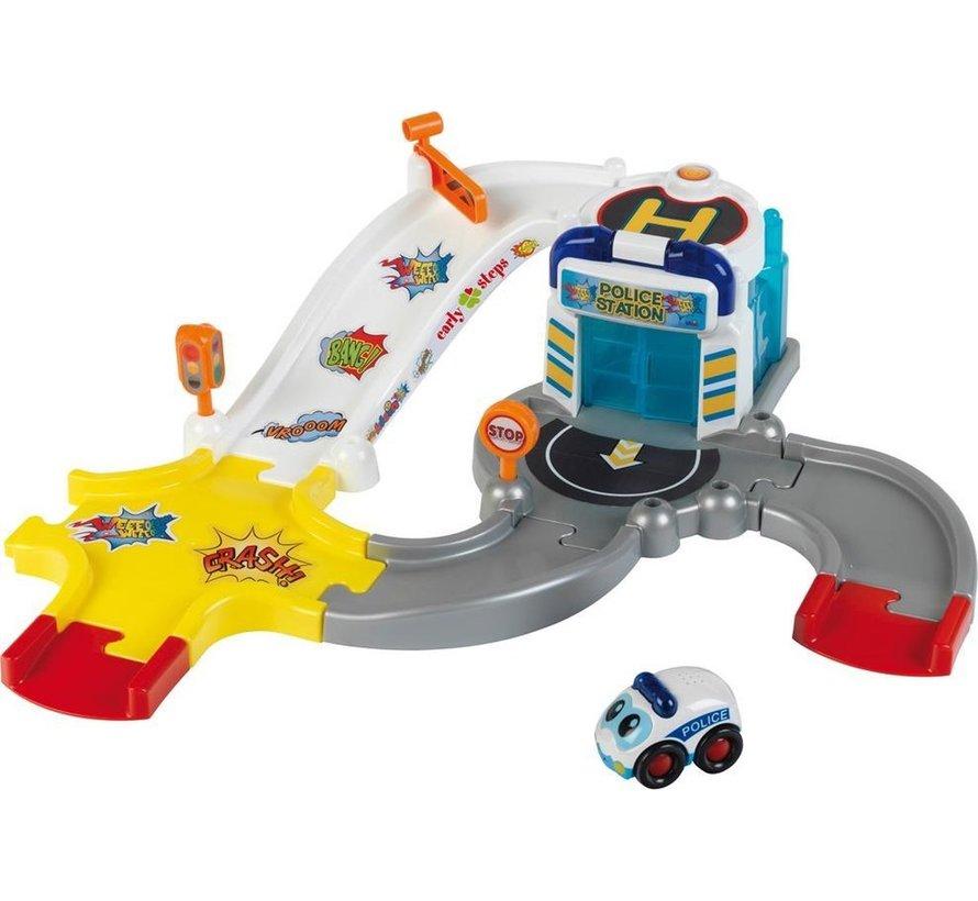 Bosch Speelgoed Politiebureau met geluid (10-delig)