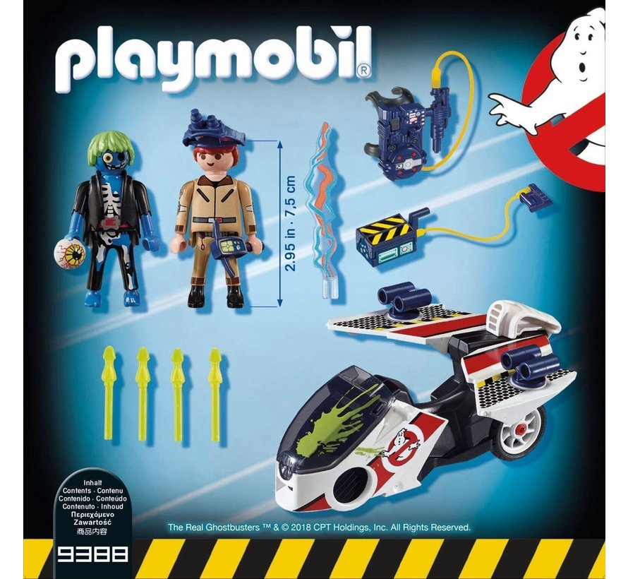 The Real Ghostbusters™ - Stanz met luchtmotor - 9388
