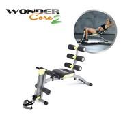 Wonder Core 6-in-1 Fitnessapparaat voor Buikspieren, Kracht en Cardio
